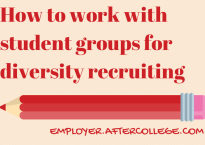 Student groups&diversity recruiting