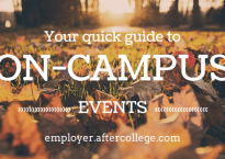 on campus events