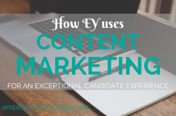 EY content marketing