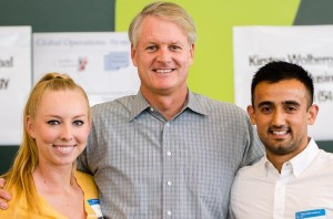 John Donahoe with 2014 Interns